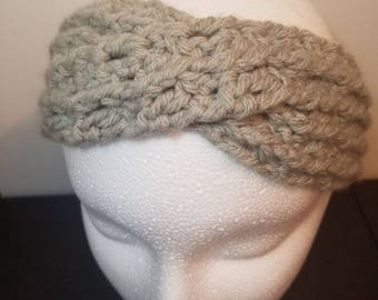 Crochet Headband, Turban Style, Turban Style Headband, Womens Headband, Crochet Ear Warmer, Womens Ear Warmer, Turban Style Ear Warmer