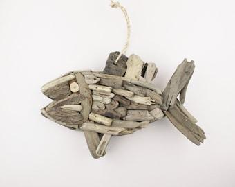 Beach Décor Driftwood Fish by SEASTYLE