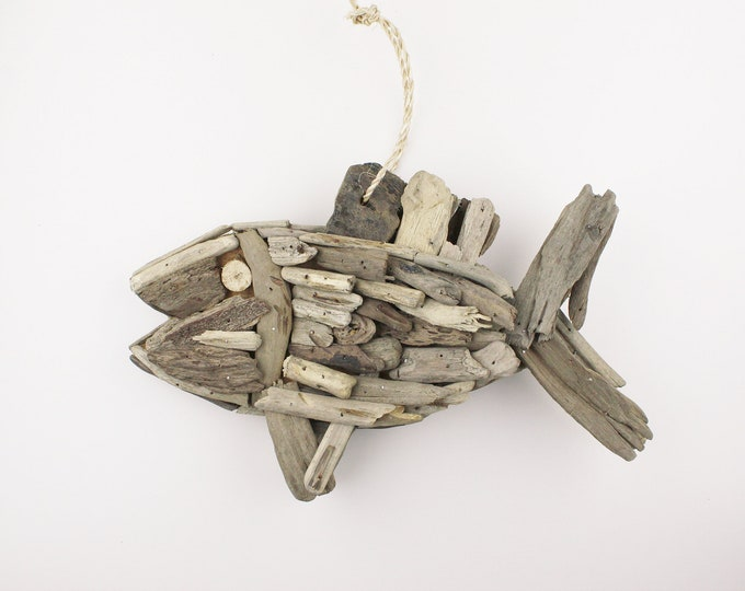 Beach Décor Driftwood Fish by SEASTYLE