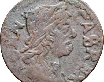 1664 Szeląg Solidus Shilling 1/3 Grosz Lithuanian John II Casimir Vasa Coin