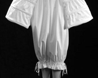 18th Century Pannier Pocket Hoop Style in White Cotton, size S-2XL Marie Antoinette Historic Underwear