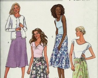 Butterick  4397   Misses/Petite Skirts  FAST and EASY   Size 14,16,18,20