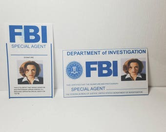 X-Files Inspired Badges