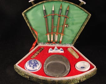 Chinese calligraphy writing and brush painting set/sumi set