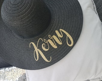 Personalised floppy hats