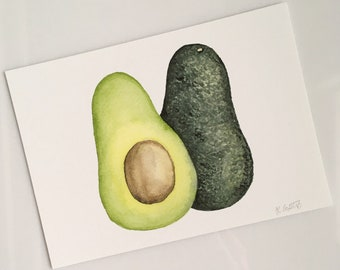 Avocado Print (5x7 Horizontal)