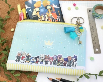 Kingdom Hearts Large Faux Leather Pouch