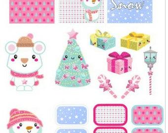 Christmas Planner Set, Printable, Digital Download, Weekly Kit