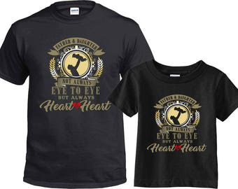 Valentines, Valentines Day Shirt, Dad and Daughter Matching Shirt, Family Shirts, Daddy and Daughter, Matching Shirts