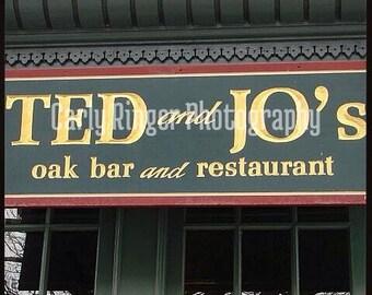 Hoboken: Ted and Joe's Tile Coaster