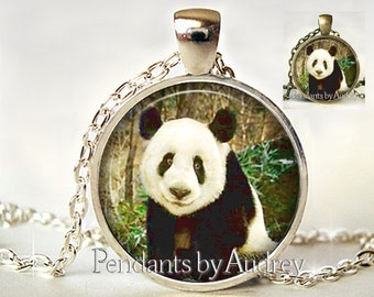 Panda Necklace,Panda Jewelry,Panda Pendant,China,Zoo,Art Pendant,Jewelry,Jewellery,Cute,Gift,Picture,Gift for Granddaughter