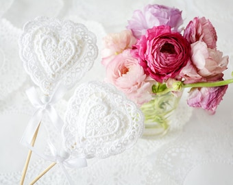 Heart wedding decoration