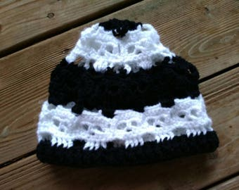 Skull beanie adult hat, skull winter hat, skull beanie, ready to ship