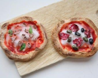 Miniature Pizza 1:12