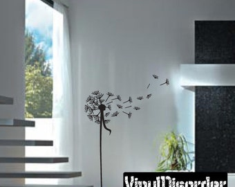 Dandelion Vinyl Wall Decal Or Car Sticker - Mv014ET