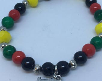 Black Power Love Bracelet