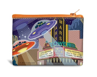 UFO Coin Bags - Canvas
