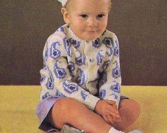 Beret Baby Boy Vintage Knitted Toddler Beret Pattern *PDF Instant Download*