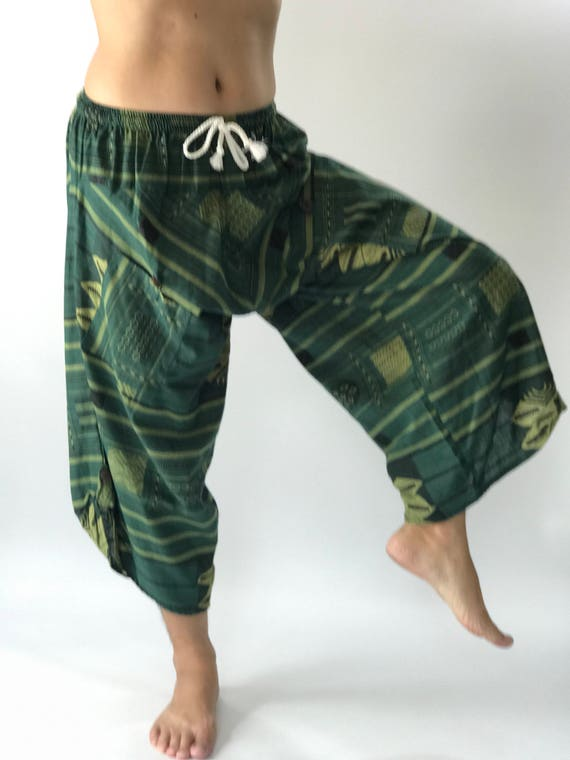HC0103 Samurai Pants Men's Fahion Harem Pants Yoga Pants Casual Cotton Bottoms rmiUP0xKj