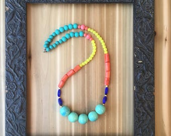 Summer Days Color Block Necklace #2