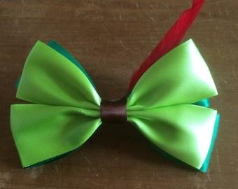 Disney Inspired Peter Pan Hair Bow