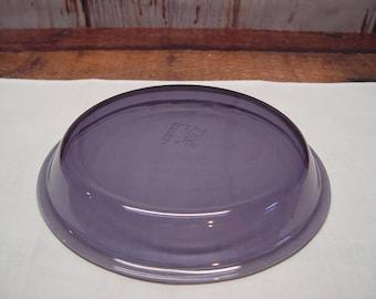 Pyrex Purple/Amethyst Pie Plate 209 Purple Pyrex 9 Inch Pie Pan Baking Vintage Kitchen & Vintage Anchor Hocking  glass pie plate  9 inch pie plate  Anchor ...