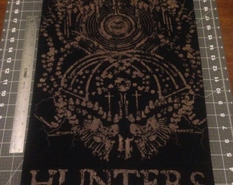 Hunters back patch
