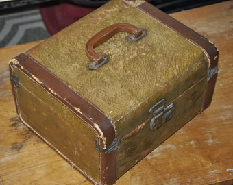 Small Old Old Suitcase