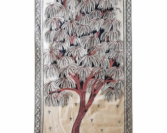 saura silk painting