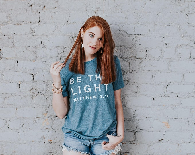 Featured listing image: Be The Light Tee // Denim
