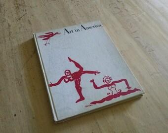 Art in America, Calder's Circus, 1964, hardcover magazine, book
