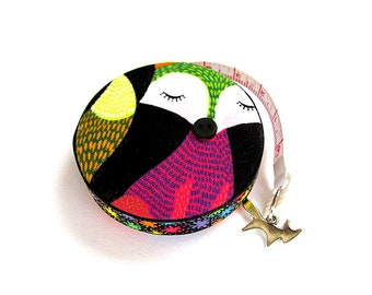 Tape Measure with Colored Foxes Retractable Measuring Tape