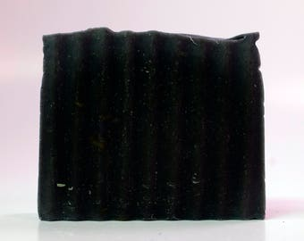 Tea Tree Oil & Activated Charcoal, Homemade Soap, Natural Soap, Soaps and Threads, All Natural, Soap