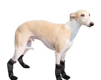 WHIPPET Dog Booties, Winter Boots, Dog Boots, Shoes for Dogs, Dog Socks, Dog Slippers,  Snow Boots, Dog Accessories, Waterproof Boots