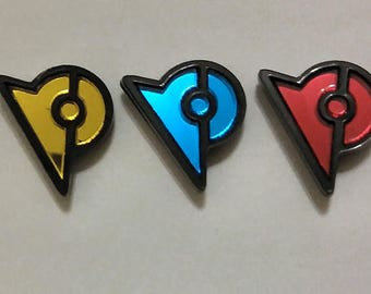 Pokemon Go Gym Pins