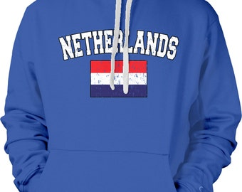 Netherlands Country Flag Sweatshirt, Dutch Pride, Nederland Flag, Dutch Flag, International Country Flag Hoodies NET_02_2tonehood