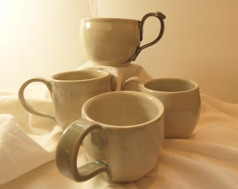 Set of cups for coffee, tea, latte, ?