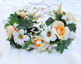 Golden Goddess Floral Crown