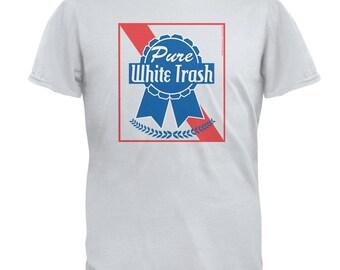 Pure White Trash Mens T Shirt