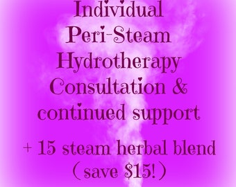 Yoni Steam/Vaginal steaming herbs and consultation