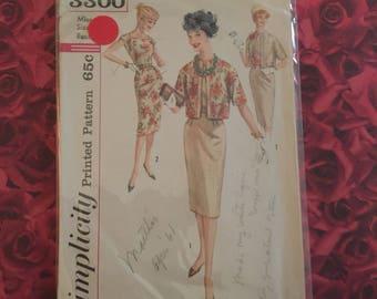 60's Vintage Vogue Sewing Pattern