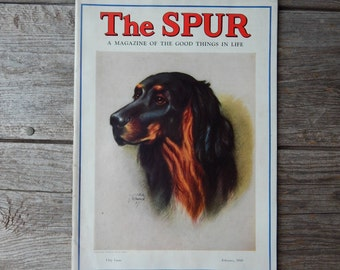 The Spur - Magazine of the Good Things in Life, New York Society Magazine February 1939