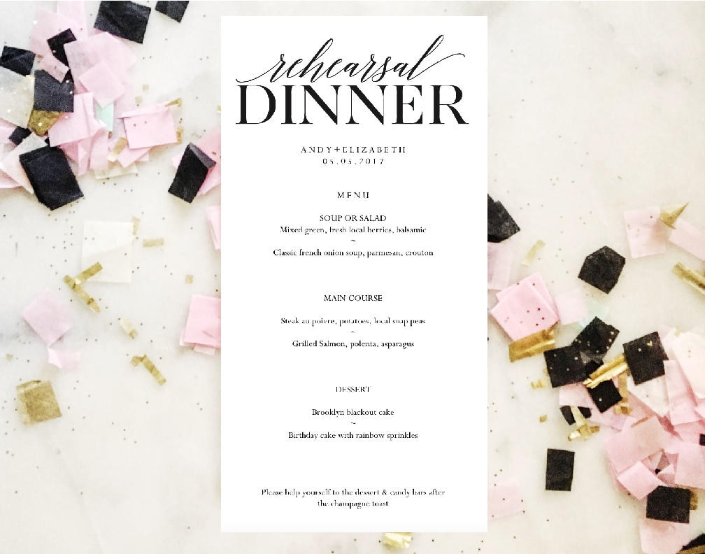 Formal Dinner Menu Template Asian Chef Sample Resume  Formal Dinner Menu Template