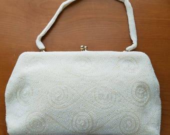 Vintage Beaded Handbag  #44