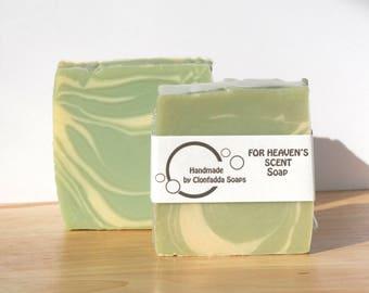 Heaven's Scent Handmade cold process soap - vegan friendly - palm free - SLS free - paraben free