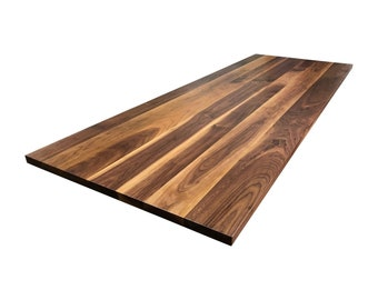 Rustic Walnut Tabletop - Custom Sizes Available