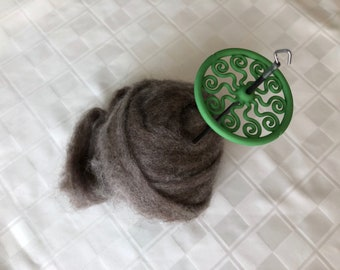 Medusa Lace Weight Drop Spindle (Forest)