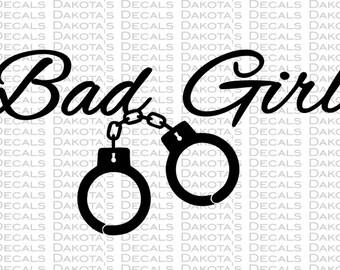 Bad Girl SVG for Download