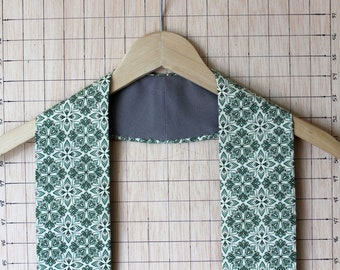 The Orione Green Clergy Stole for Ordinary Time