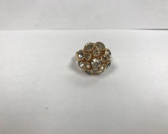 Sarah Coventry 'Champagne' Ring from 1974